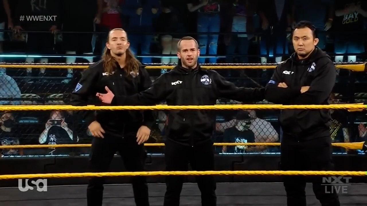Kyle O'Reilly and Kushida get violently ambushed after impromptu match