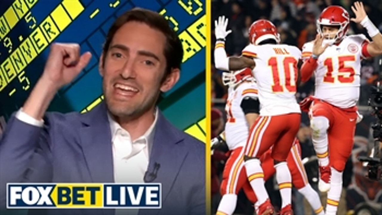 Will Patrick Mahomes, Chiefs win over or under 12.5 games this season? | FOX BET LIVE