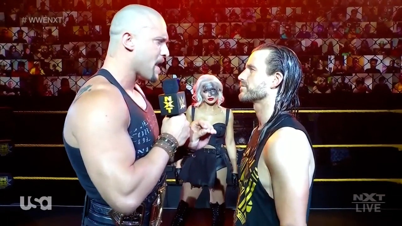 Karrion Kross calls for Fatal-5-Way Match in cut-throat confrontation with Adam Cole