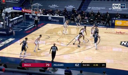HIGHLIGHTS: Lonzo Ball Gets the Three Ball to Fall