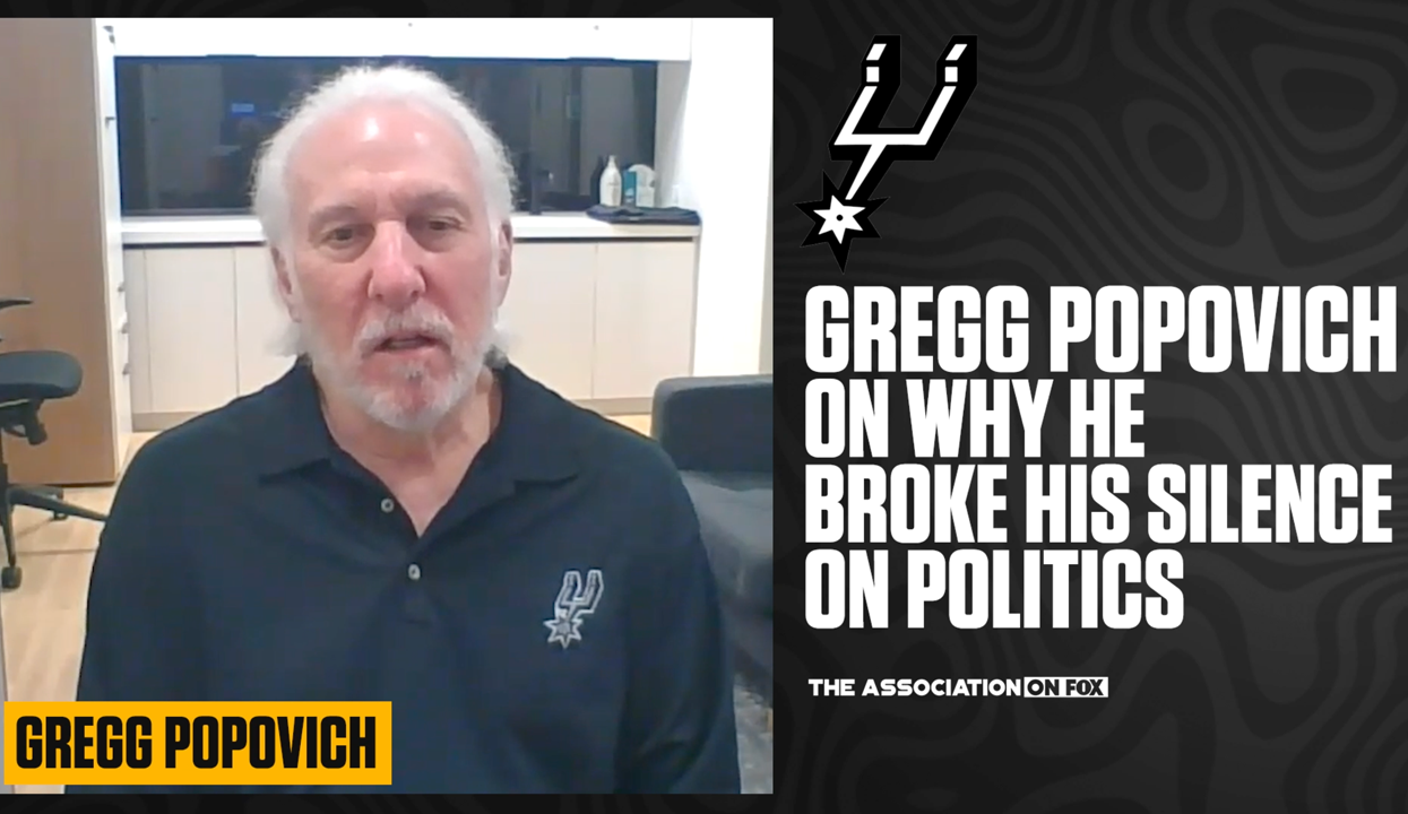 Gregg Popovich on why he Became Outspoken About Politics
