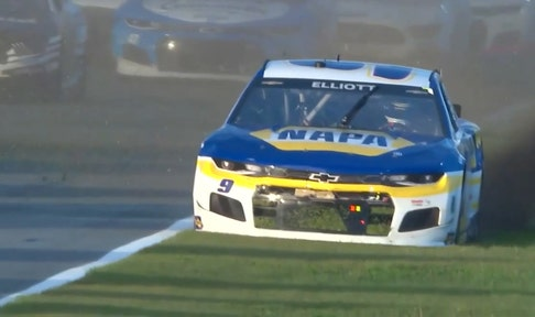 Chase Elliott makes an outstanding recovery as Tyler Reddick goes up in flames in Daytona