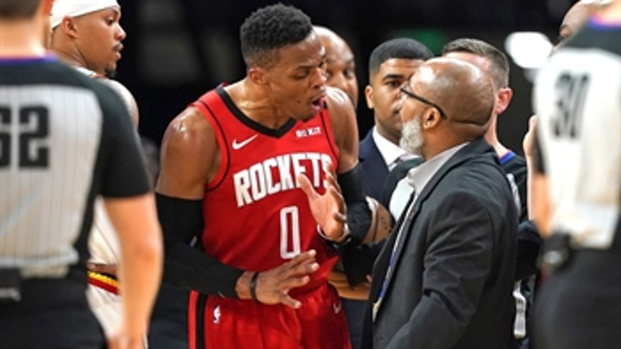 Ric Bucher: Westbrook gets no breaks from refs because of his history of on-court outbursts