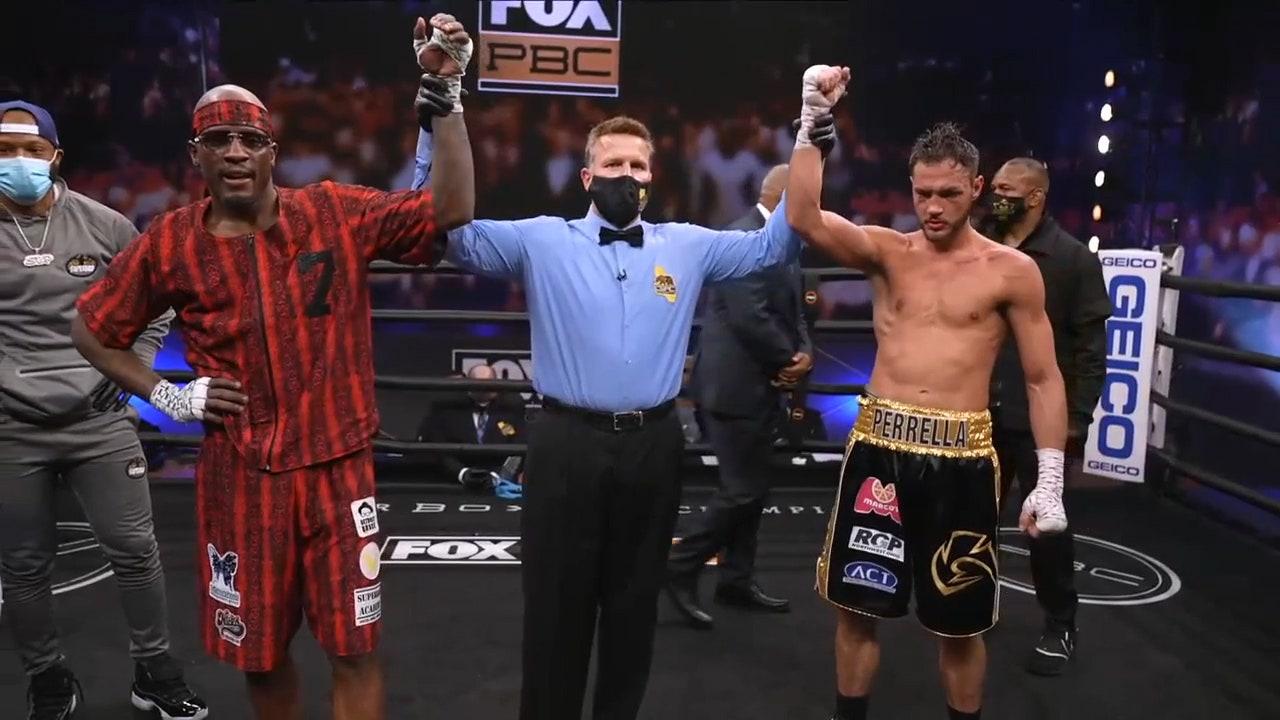 Tony Harrison vs Bryant Perrella main event fight | HIGHLIGHTS | PBC ON FOX