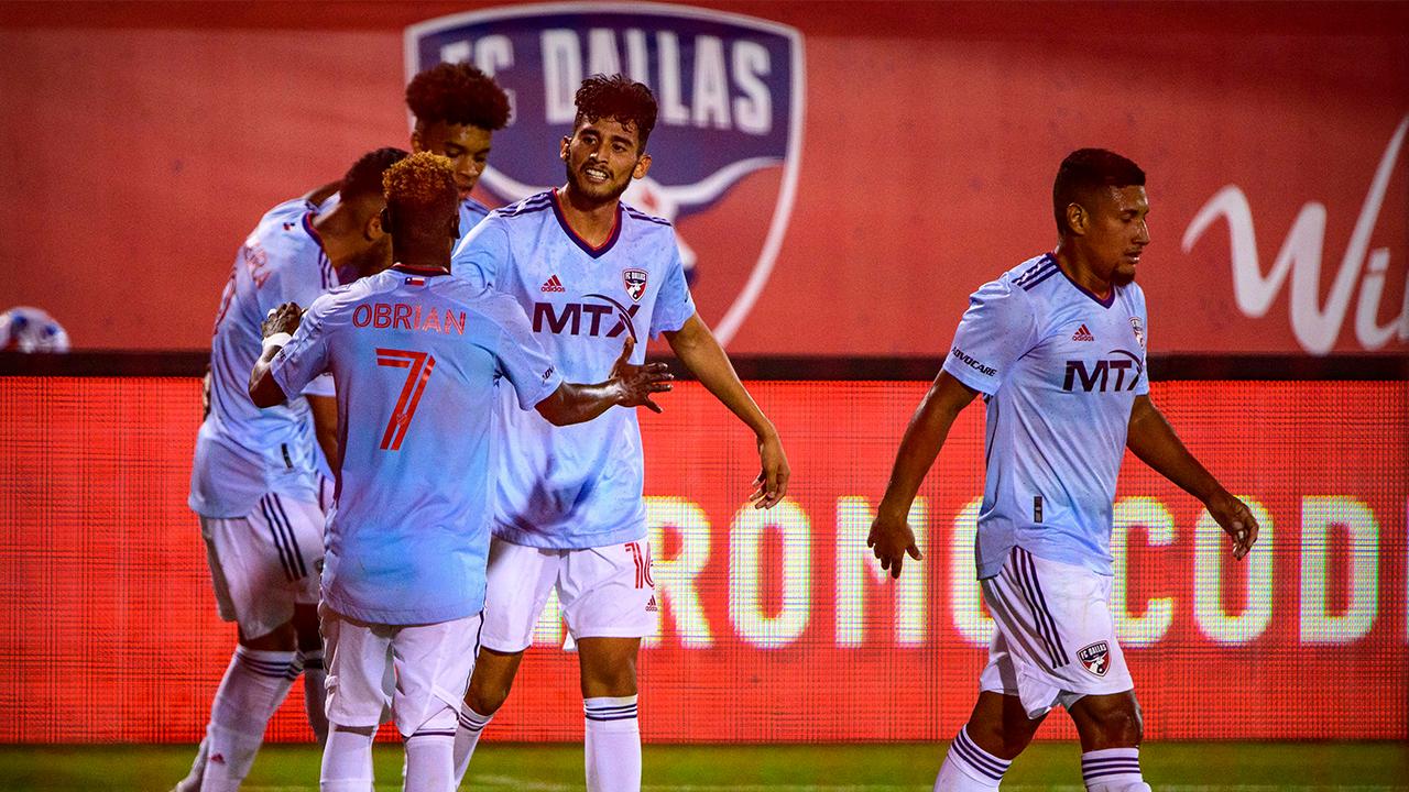 Ricardo Pepi scores two goals to lead FC Dallas over New England, 2-1