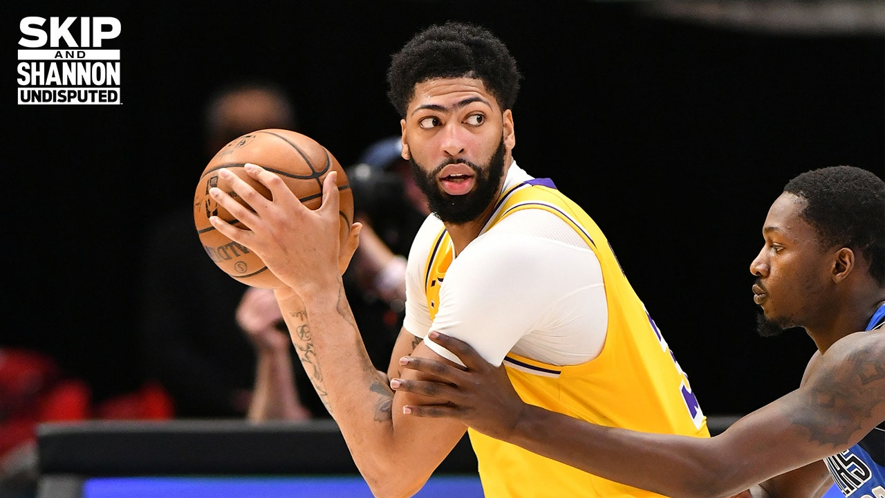 """Shannon Sharpe on Anthony Davis' """"encouraging"""" return to Lakers after missing 9 weeks 