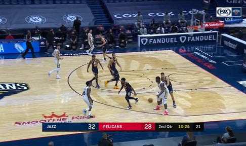 HIGHLIGHTS: Zion Williamson Goes at Rudy Gobert