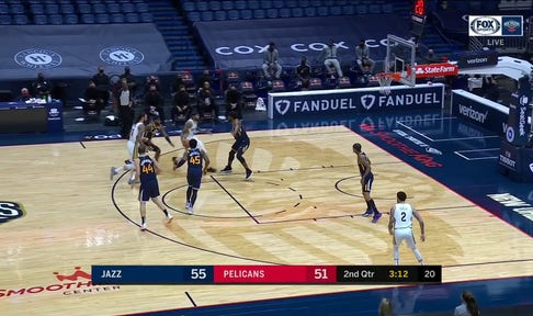 HIGHLIGHTS: Lonzo Ball with the Catch-And-Shoot Play