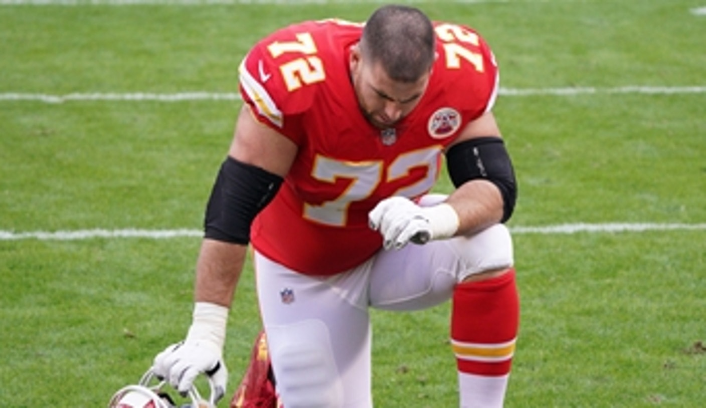 Patrick Mahomes will be without blindside blocker, LT Eric Fisher, in Super Bowl | DR. MATT