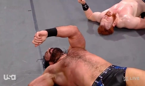 Drew McIntyre returns to RAW and battles Sheamus