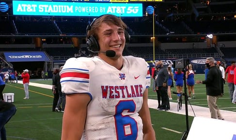 Cade Klubnik on Austin Westlake Winning the State Championship