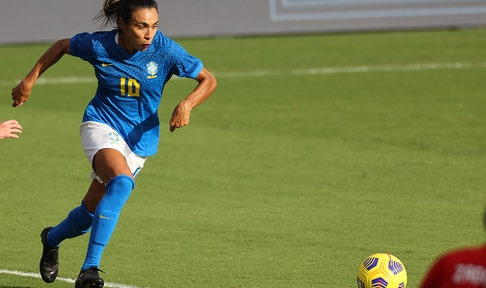 Brazil closes out its SheBelieves Cup with 2-0 win over Canada