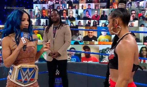 Bianca Belair chooses WWE Champion Sasha Banks to headline WrestleMania