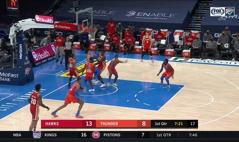 HIGHLIGHTS: Maledon Finds Darius Bazley For the Slam