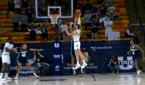Utah State survives late push from Nevada, earns 75-72 win