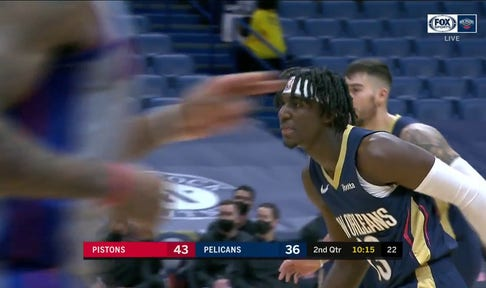 HIGHLIGHTS: Kira Lewis Jr. hits the Catch-And-Shoot Three