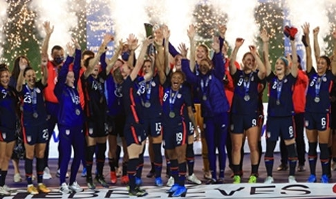USWNT wins second straight SheBelieves Cup with 6-0 blowout of Argentina