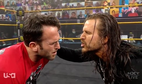 Adam Cole addresses attacks on Finn Balor and Kyle O'Reilly