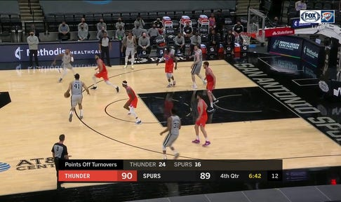 HIGHLIGHTS: SGA finds Kenrich Williams with the Slam