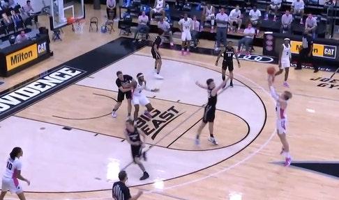 Providence tops Xavier, 83-68, behind Noah Horchler's 20-point outburst