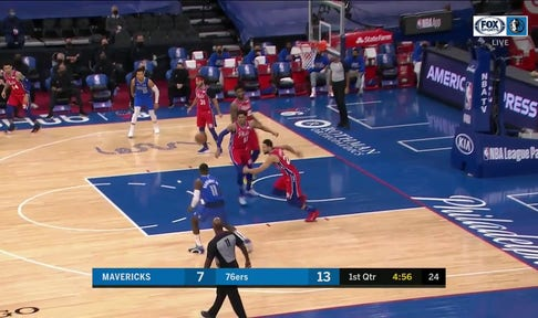 HIGHLIGHTS: Dorian Finney-Smith hits 3 in 1st Quarter