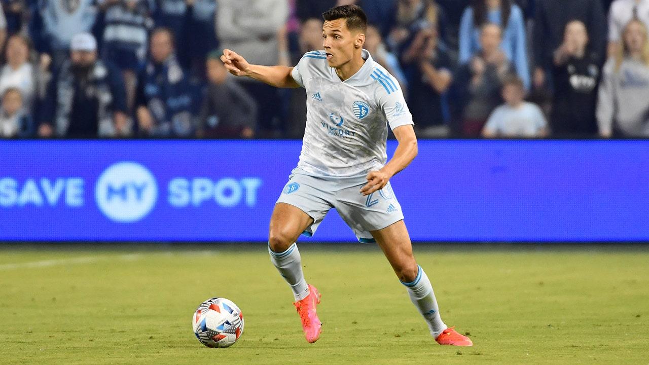 Daniel Salloi's brace helps Sporting KC get by Colorado Rapids, 3-1