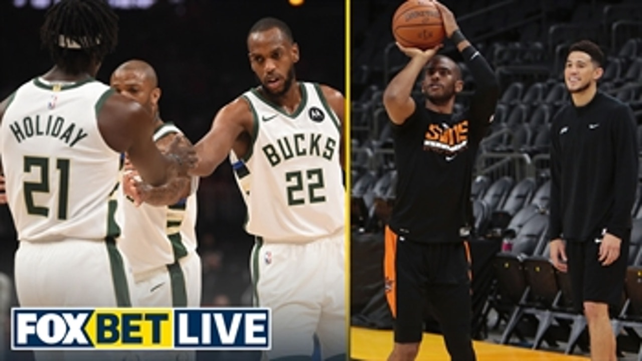 Bucks or Suns? Who's the best bet to win Game 1? | FOX BET LIVE