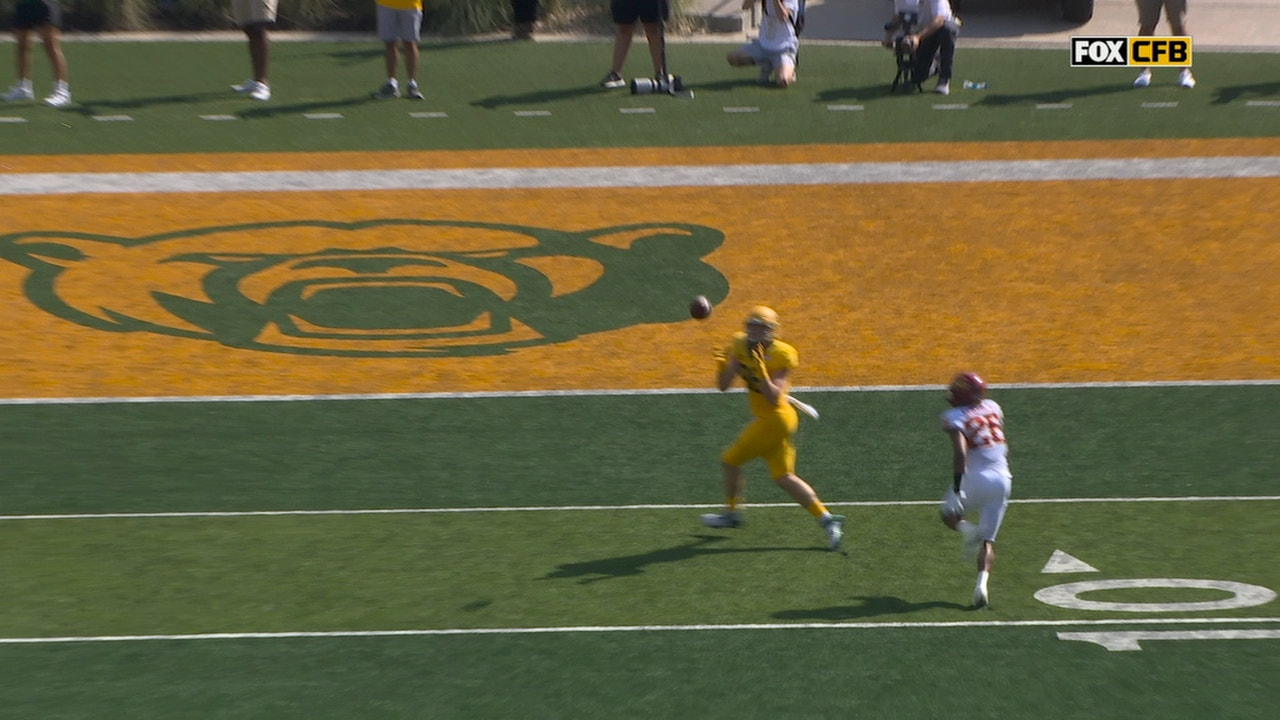 Gerry Bohanon connects with Ben Sims for eight-yard score, Baylor extends lead over Iowa State to 21-10