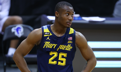 Marquette's Koby McEwen goes coast-to-coast, throws down spectacular dunk vs DePaul