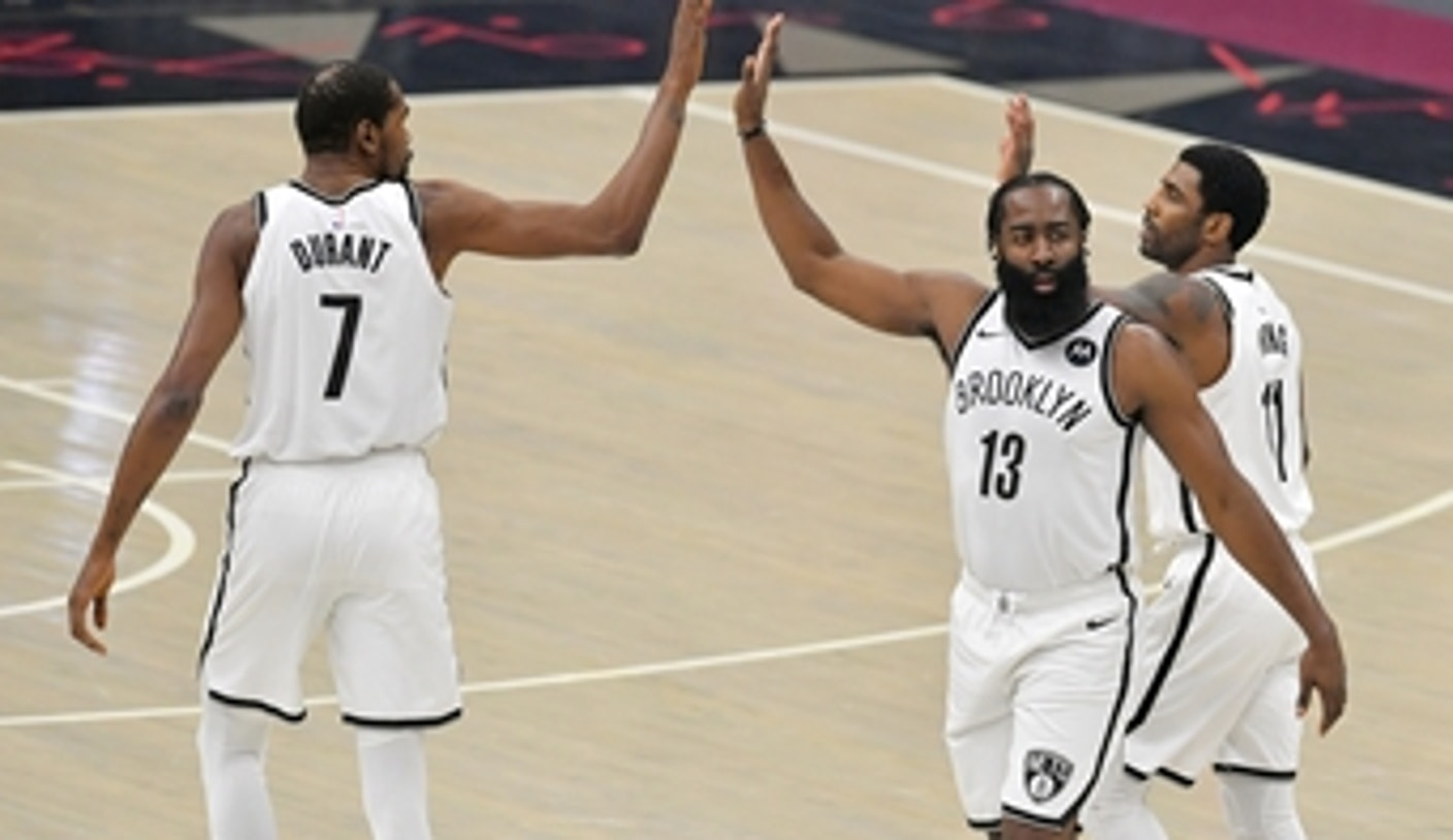 Skip Bayless: Brooklyn Nets 'tour de force' is the new 'Greatest Show on Earth' | UNDISPUTED