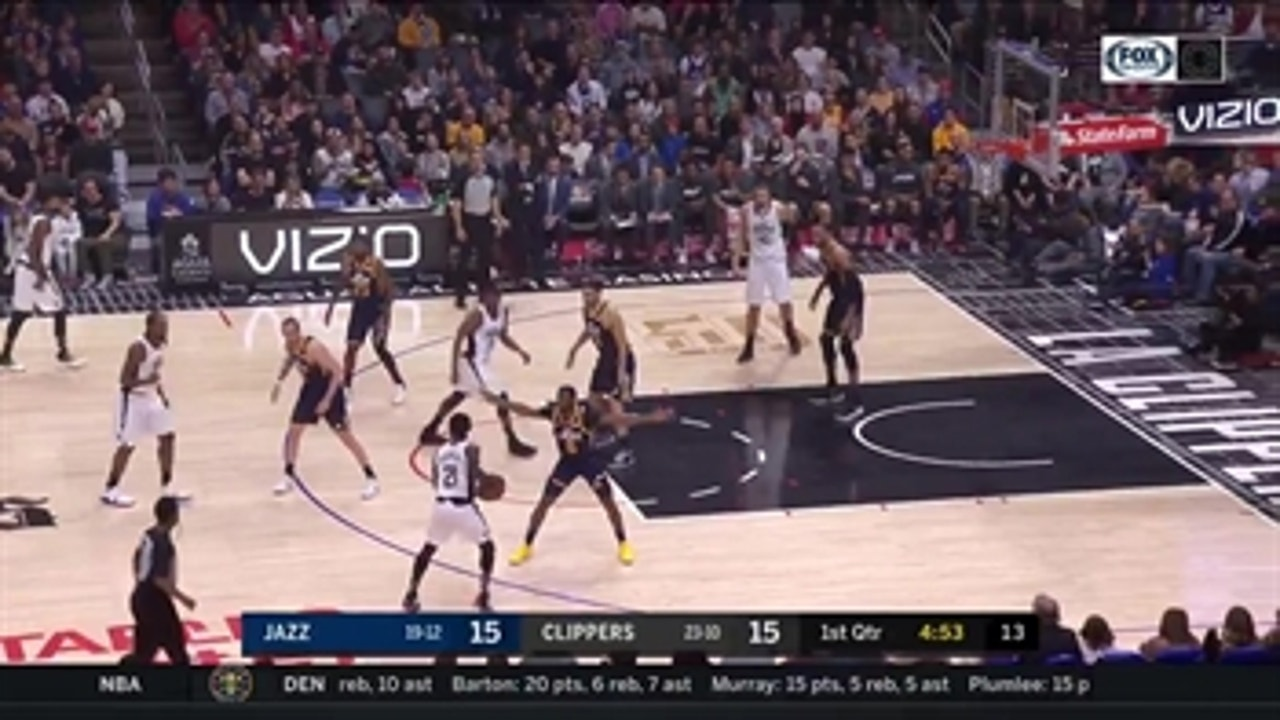 HIGHLIGHTS from the Clippers 120-107 loss to the Jazz