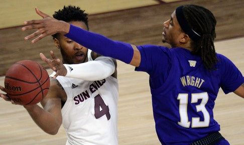 Kimani Lawrence's double-double helps lead Arizona State over Washington, 80-72
