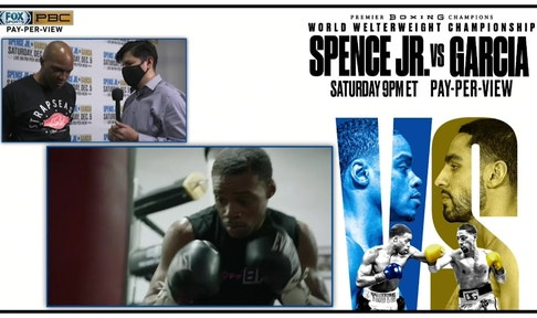 Trainer Derrick James and Errol Spence Sr. reflect on Errol Spence Jr.'s boxing journey