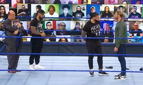 TITLE: Watch WWE Friday Night SmackDown on FOX in 3 minutes   SMACKDOWN IN 3