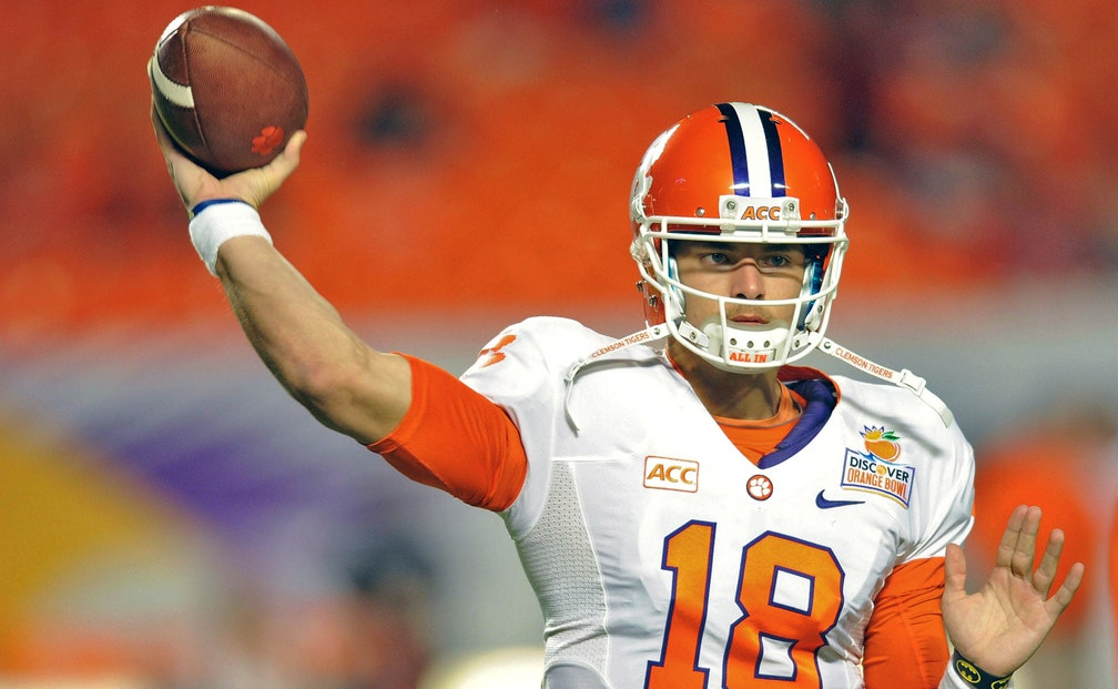 Clemson's Dabo Swinney names Cole Stoudt starting QB ...