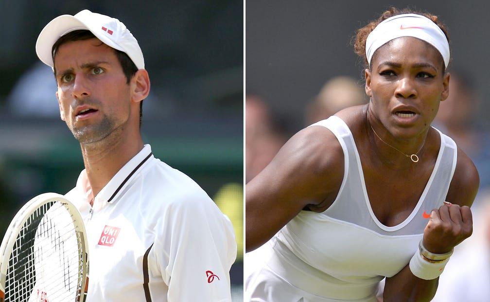 Novak Djokovic Serena Williams Get No 1 Seeds For Wimbledon Fox Sports