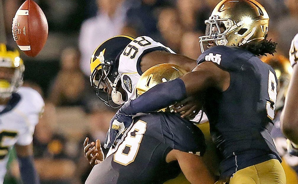 Mailbag: Why college football should beware of Notre Dame ...