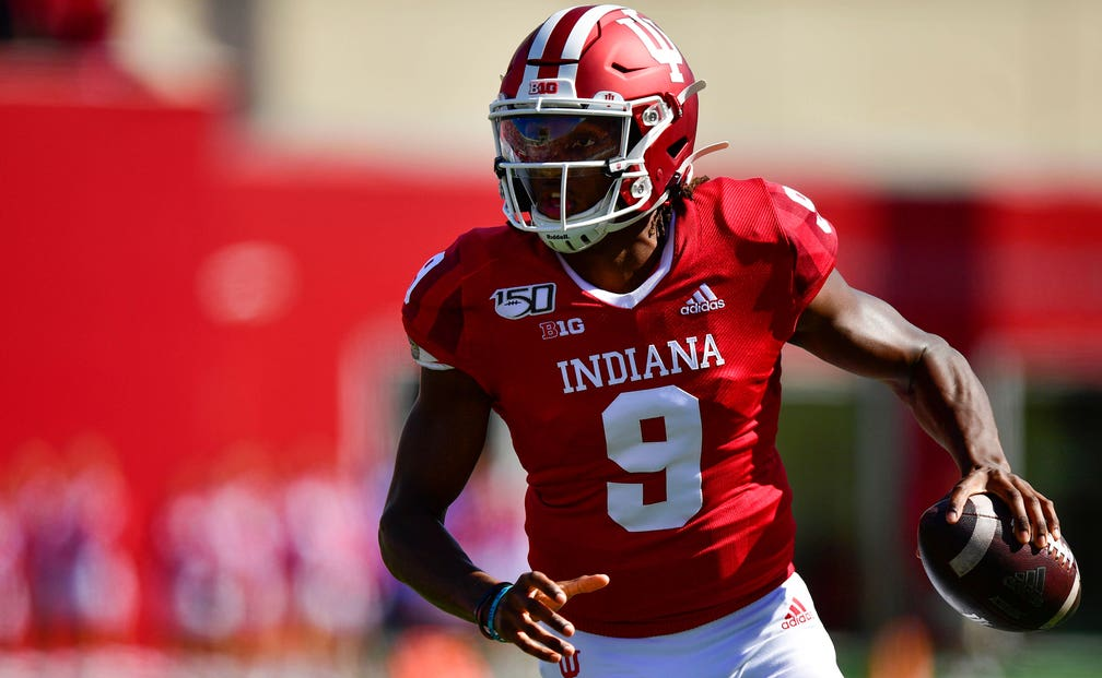 Indiana's revamped spread offense gives Penix lots of ...