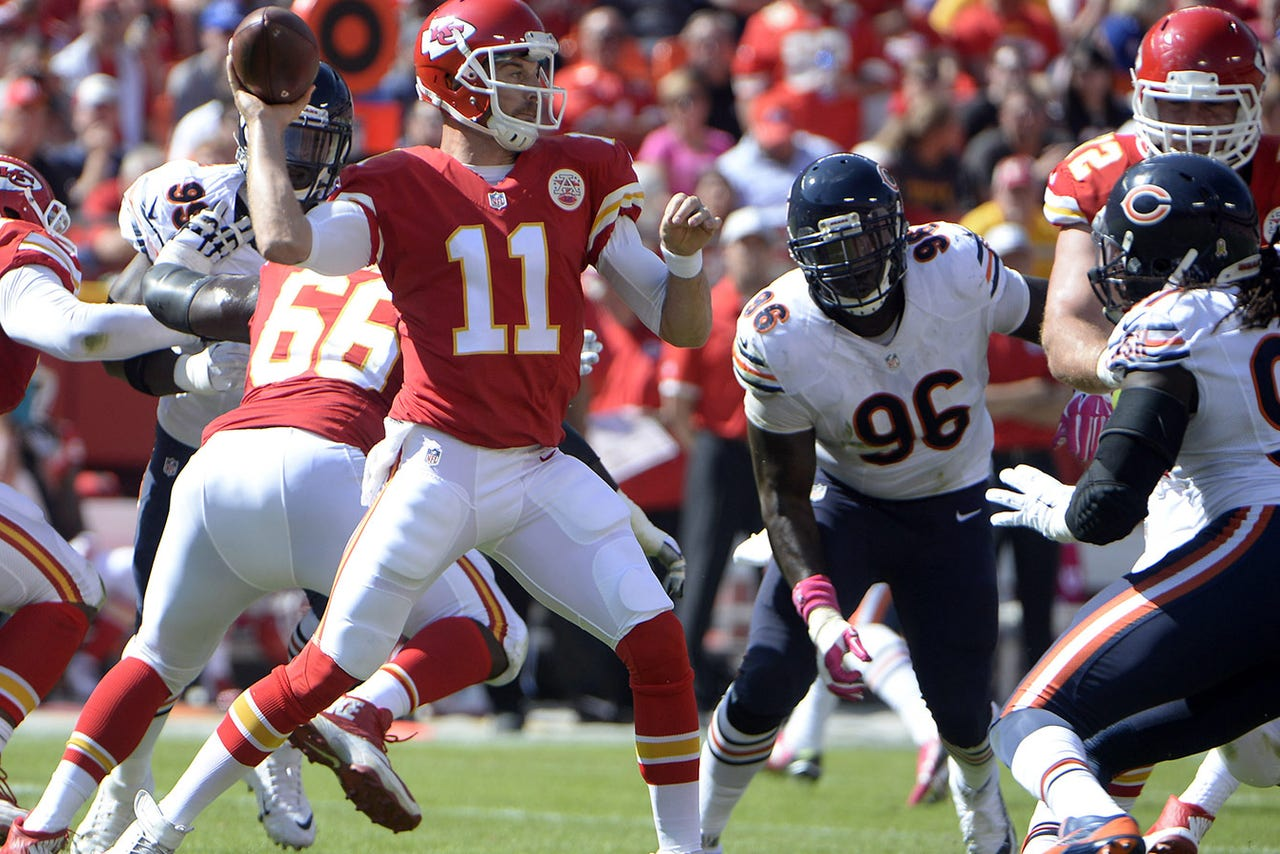 QB Alex Smith trying to rally Chiefs after losses ...