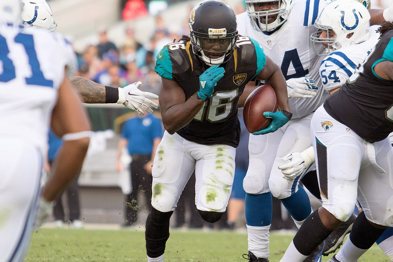 Jaguars RB Denard Robinson: 'I want to take the hit to ...