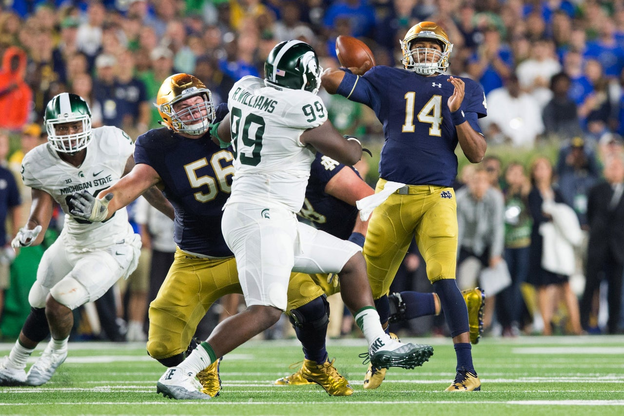 Notre Dame proved it's one of the nation's most overrated ...