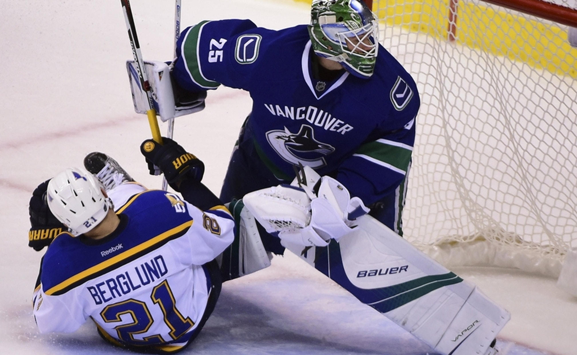 Vancouver Canucks G Jacob Markstrom Has Turned His Career Around Fox Sports