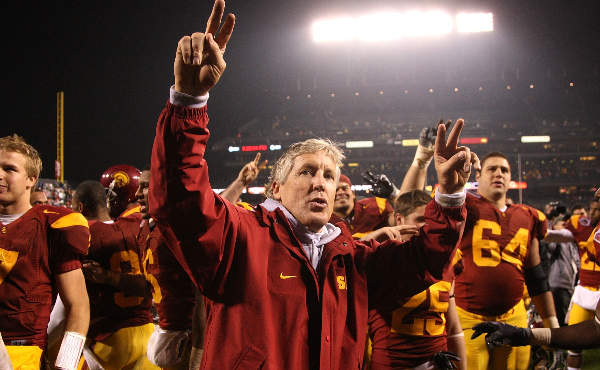 Pete Carroll To Be Inducted Into Usc Athletic Hall Of Fame Fox Sports
