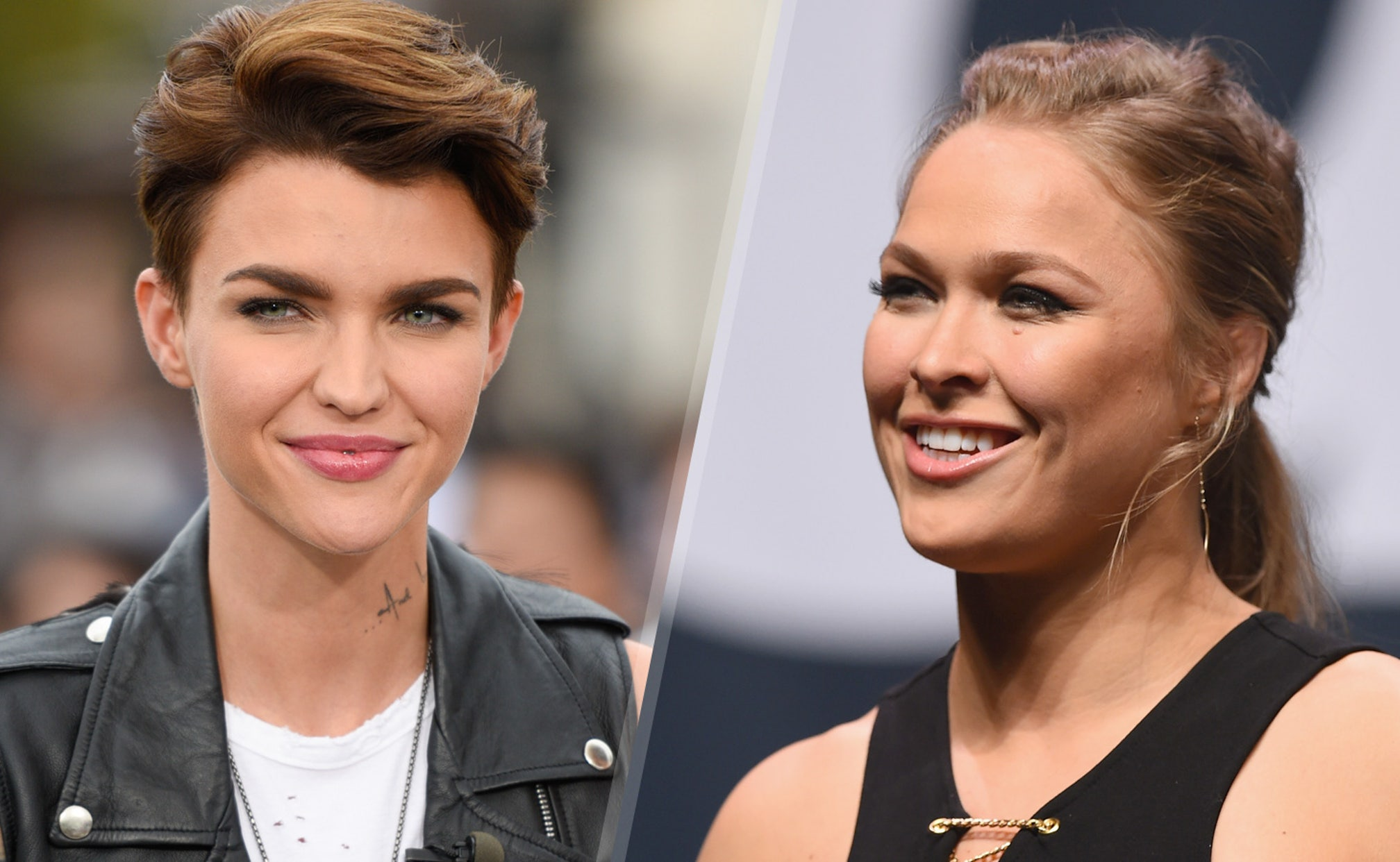 Ruby Rose: Ronda Rousey converted me to the UFC | FOX Sports