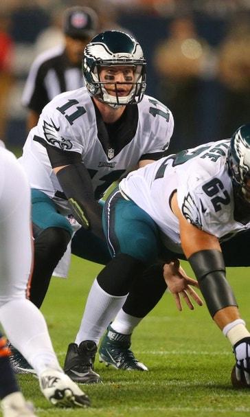 Philadelphia Eagles Carson Wentz Already Setting Records Fox Sports