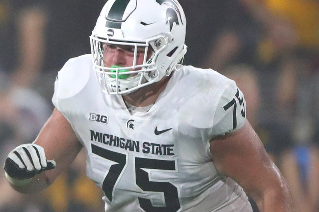 Michigan State OL Kevin Jarvis expected to miss 6-7 weeks ...
