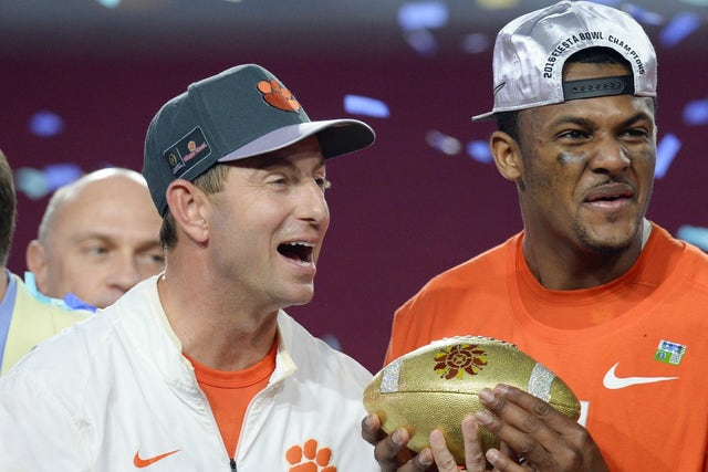 Dabo Swinney has earned his place among college football's ...