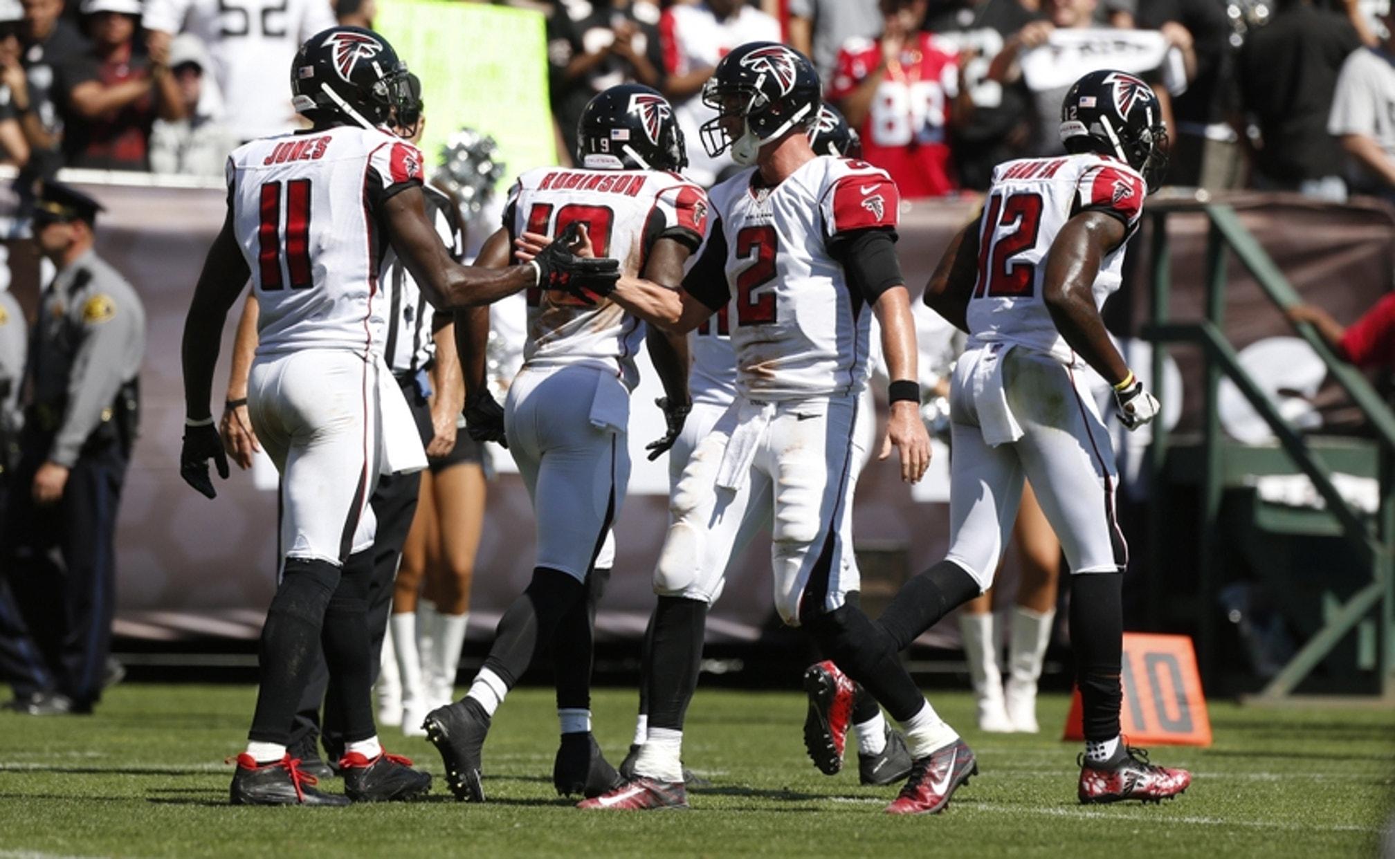 Atlanta Falcons vs Carolina Panthers ...