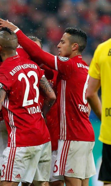 Watch: Defenders Martinez, Hummels score for Bayern vs ...