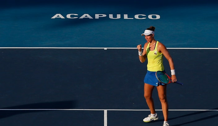 Haddad Maia beats top-seeded Stephens in Mexican Open